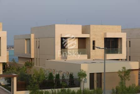 5 Bedroom Villa for Sale in Saadiyat Island, Abu Dhabi - Exquisite Corner Type 6 Villa 5BR with Pool