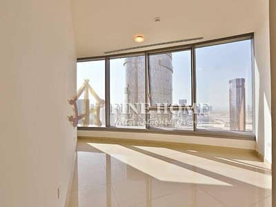 2 Bedroom Flat for Rent in Al Reem Island, Abu Dhabi - Incredible view 2BR Apartment in Sky Tower.
