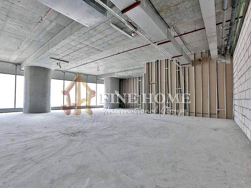 2 Splendid Shell & Core Office! Al Reem Island!