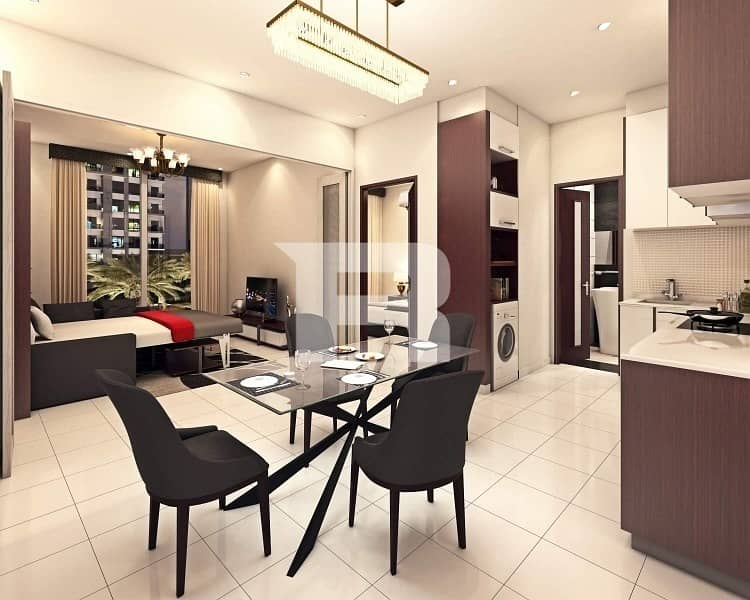 2 Pay 1% Monthly to own 1BR SEMI FURNISHED