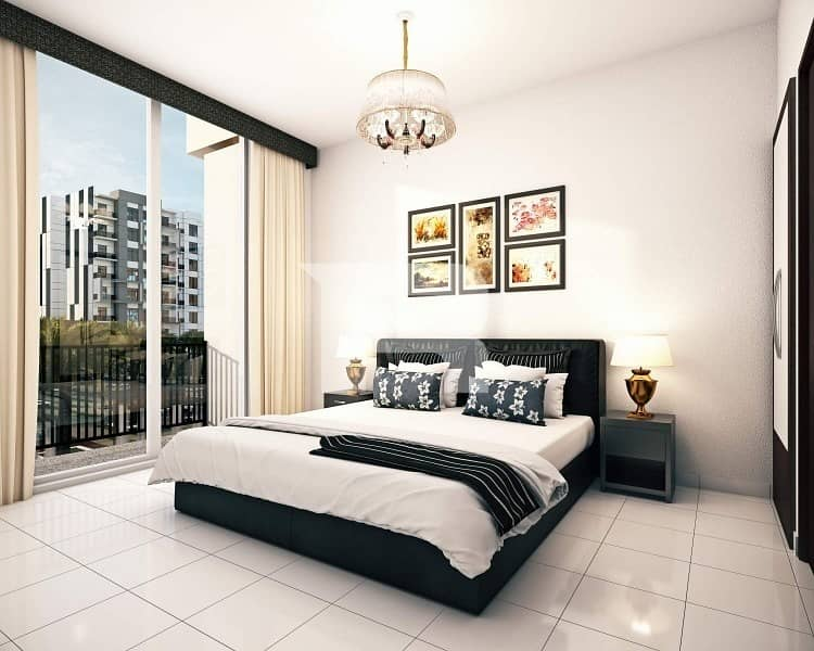 Pay 1% Monthly to own 1BR SEMI FURNISHED