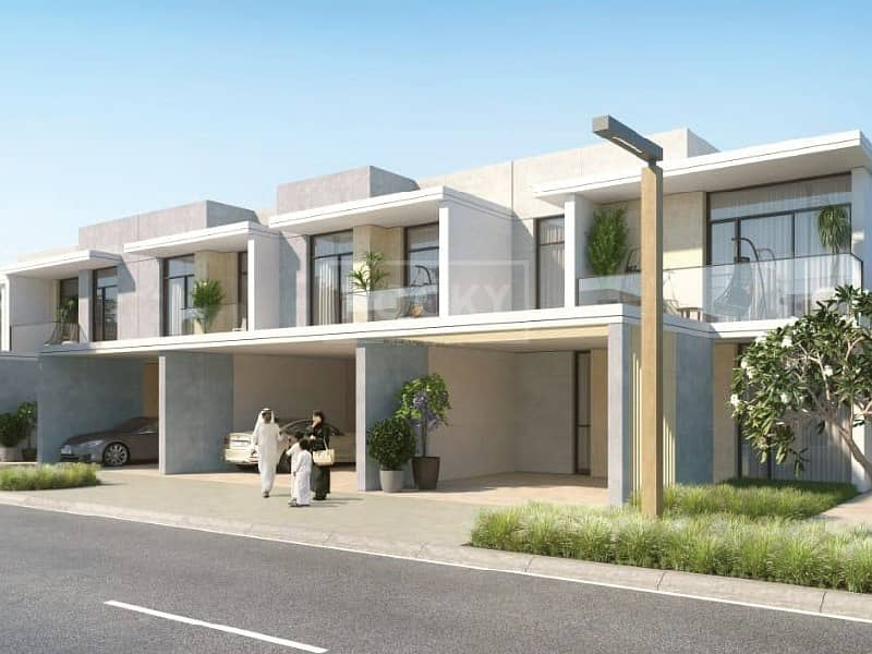 Brand New   3-Bed Townhouse   Arabian Ranches 3