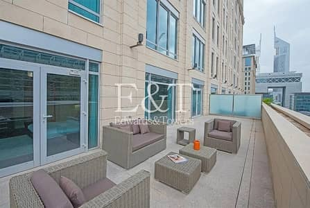 3 Bedroom Flat for Sale in DIFC, Dubai - Terraced apt | Rare Layout | Gate Avenue views