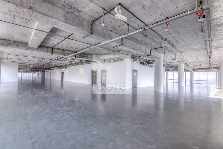 2 Prime area semifitted office in Burj Daman