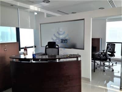 مکتب  للبيع في أبراج بحيرات جميرا، دبي - Investment opportunity with 7%  ROI in JLT Office