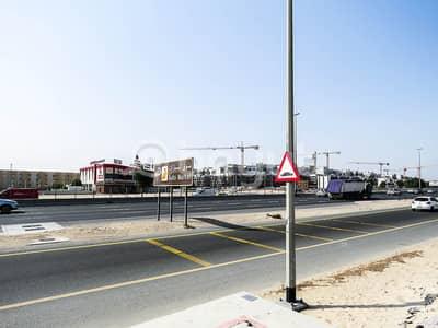 Plot for Sale in Nad Al Hamar, Dubai - Huge Land located on main road