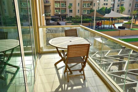 2 Bedroom Flat for Rent in The Greens, Dubai - Highly sought after internal view