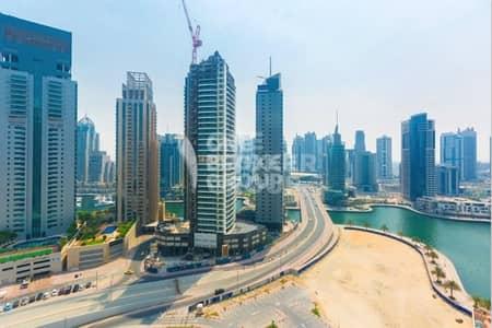 فلیٹ 2 غرفة نوم للبيع في دبي مارينا، دبي - Vacant. Biggest 2 BR on High Floor