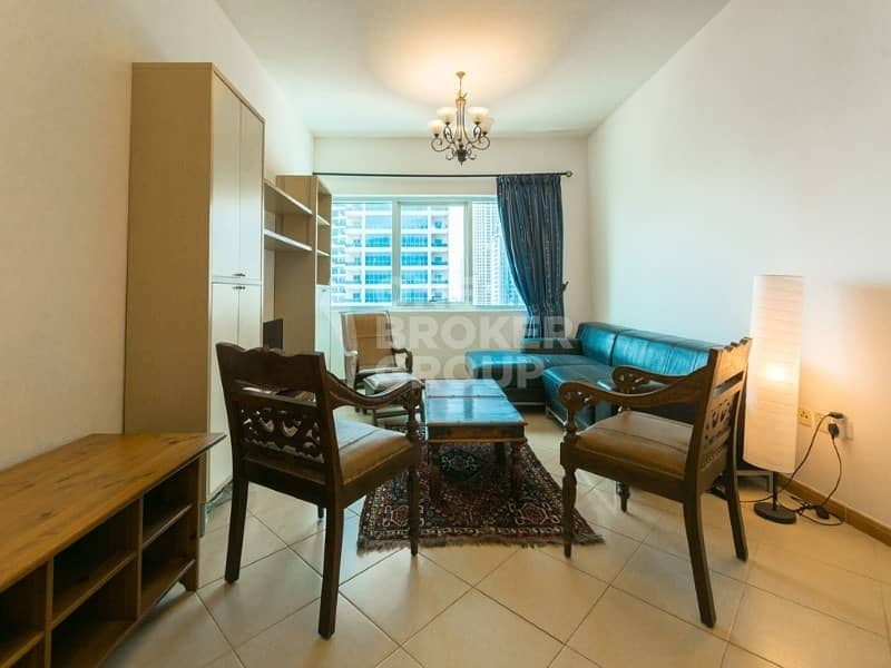 2BR with Marina View | Close to Metro  | Rented