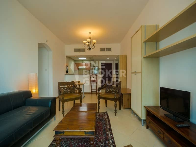 2 2BR with Marina View | Close to Metro  | Rented