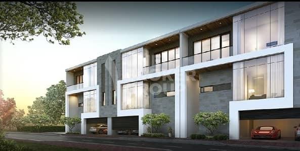 فیلا 4 غرفة نوم للبيع في أكويا أكسجين، دبي - Below OP I 4 BR Middle Row I Center Plot .
