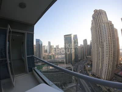Studio for Sale in Dubai Marina, Dubai - High floor