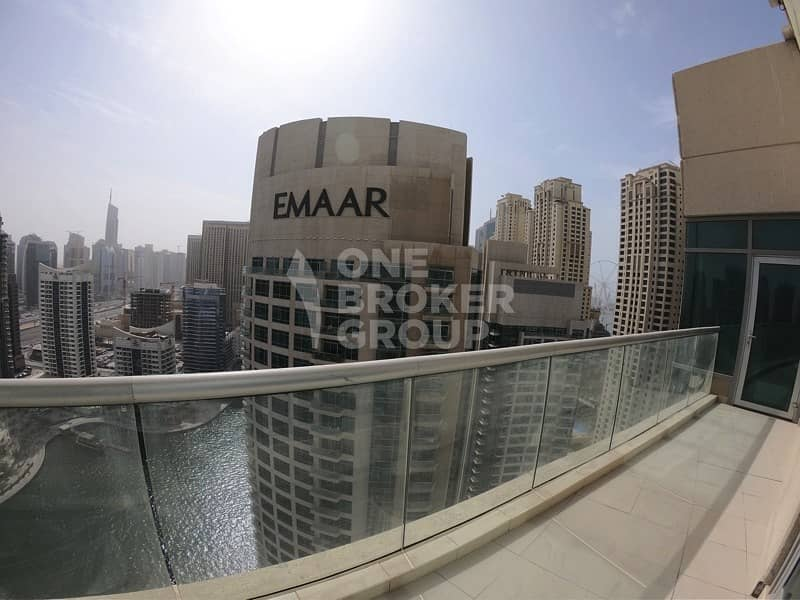 2 Furnished 2BR w/ Amazing Marina + Sea View.