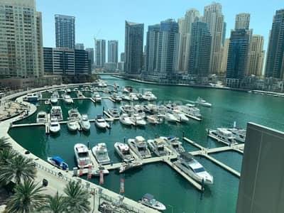 2 Bedroom Flat for Rent in Dubai Marina, Dubai - Full Marina View