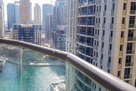 فلیٹ 2 غرفة نوم للبيع في دبي مارينا، دبي - High floor