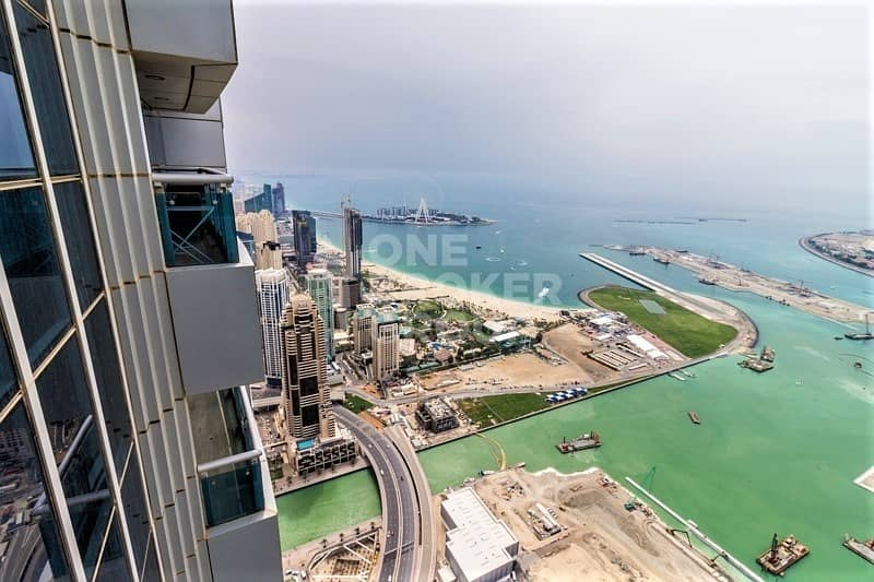 2 Penthouse Type |Breathtaking Sea View|4 Bed