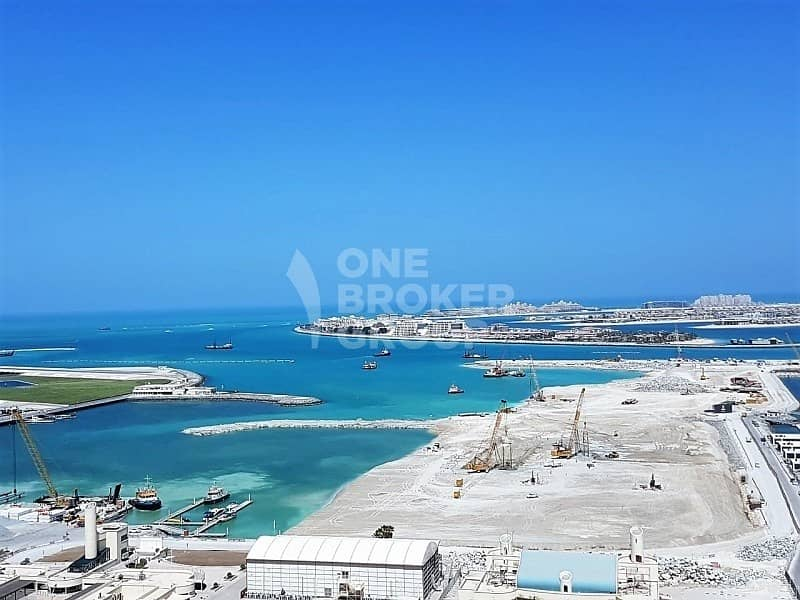 12 Full Sea and Dubai Eye View | 1Bed | Rented