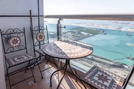 2 Bedroom Apartment for Sale in Dubai Marina, Dubai - Exclusive 2BR | Full Sea View | High Floor.