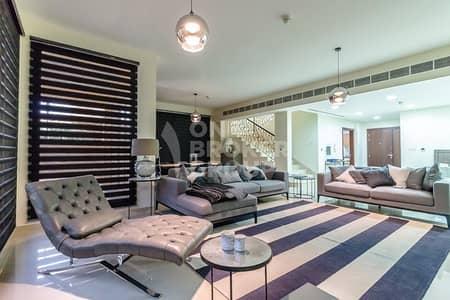 تاون هاوس 4 غرفة نوم للبيع في جزر جميرا، دبي - Exclusive|Ready now|Payment plan|Fully Furnished