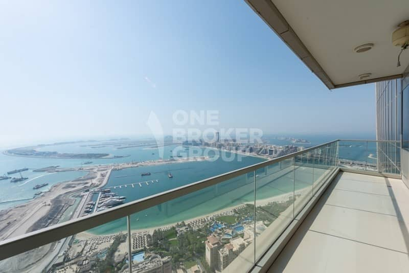 Exclusive! Full Sea View,High Floor,Large Balcony