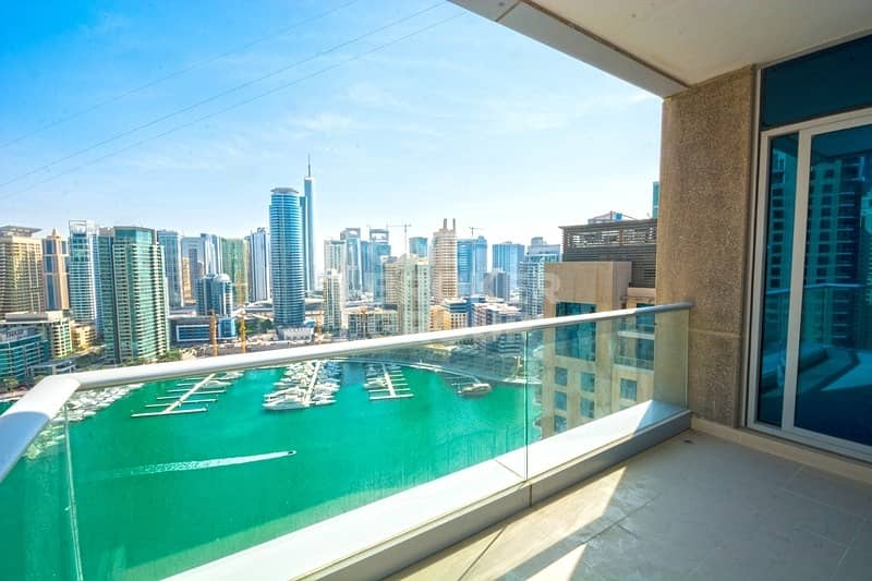Best Deal | 3 Bed+Maid | Full Marina View