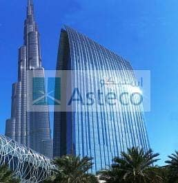 Fantastic Fully Fitted Office with Full Burj Khalifa View