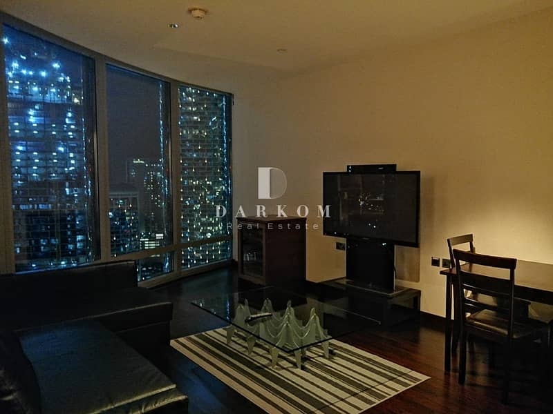2 Fully Furnished 1 Bedroom in Burj Khalifa With Opera View