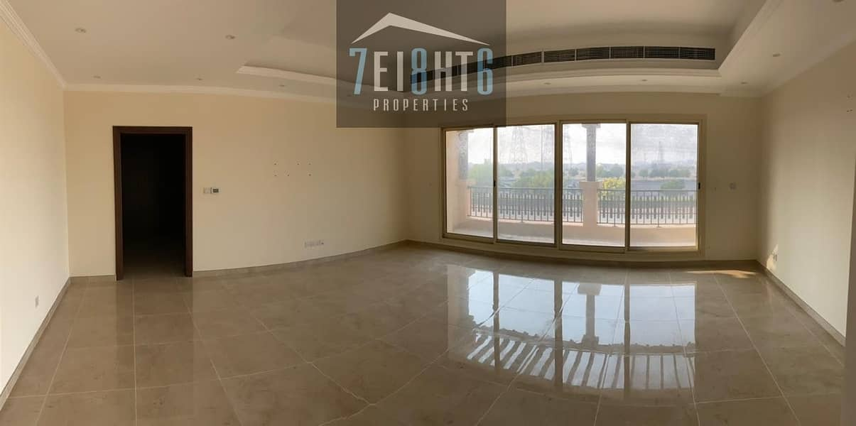 2 Beautifully presented: 5 b/r indep villa + maids room + landscaped garden for rent in Barsha South 1