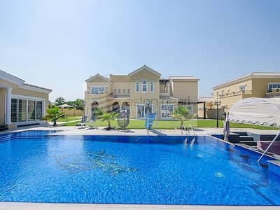 6 Bedroom Villa for Sale in Arabian Ranches, Dubai - Extended and Upgraded Villa | Full Polo View