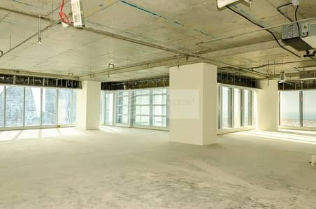 مکتب  للبيع في الخليج التجاري، دبي - Shell and Core Office Unit | 7 Car Parking Vacant