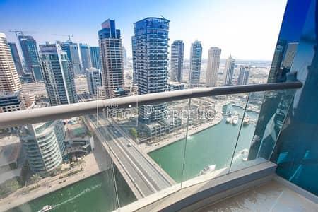 شقة 3 غرفة نوم للبيع في دبي مارينا، دبي - Brand New | High Floor | Marina View