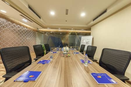Office for Rent in Sheikh Zayed Road, Dubai - Estadama/Flexi Desk Offices Space Available  For Rent