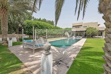 فیلا 5 غرفة نوم للبيع في المرابع العربية، دبي - Unique Large Plot   Fully Upgraded   Private Pool