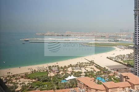 1 Bedroom Flat for Rent in Jumeirah Beach Residence (JBR), Dubai - Sea View | Furnished 1 BR | Sadaf 7