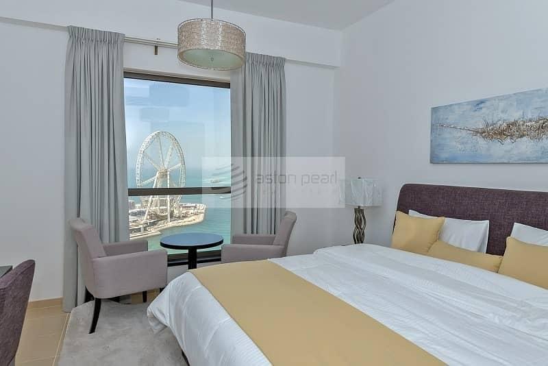 2 Renovated 2 BR with Full Sea and Dubai Eye Views