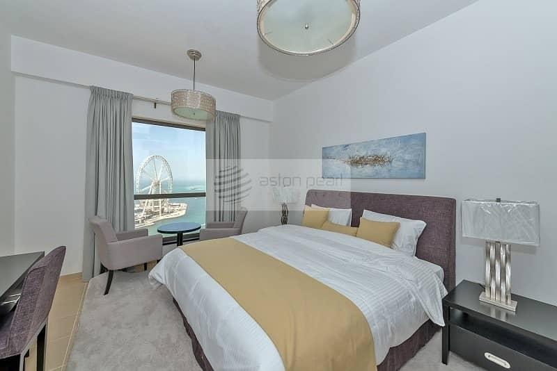 23 Renovated 2 BR with Full Sea and Dubai Eye Views