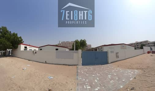Suitable for investors: 28 Rooms indep labour camp with 4 person capacity + 12 washbasins + 12 bathrooms + 5 kitchens