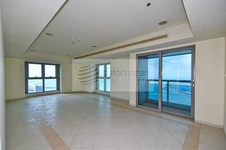 فلیٹ 3 غرفة نوم للايجار في دبي مارينا، دبي - Vacant Now   Spacious 3BR Apartment  Full Sea View