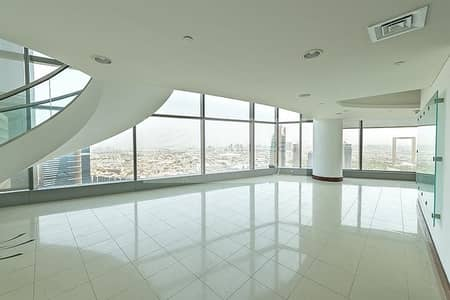 4 Bedroom Apartment for Rent in World Trade Centre, Dubai - Panoramic Views |  Corner Unit |  Duplex