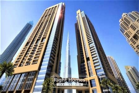 3 Bedroom Apartment for Sale in Downtown Dubai, Dubai - Most Affordable- Burj Khalifa View 3 BR+M Easy Payment Plan