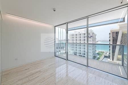 شقة 3 غرفة نوم للايجار في نخلة جميرا، دبي - Sea View Relaxing 3BR Furnished Ready Title Deed