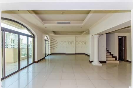 بنتهاوس 3 غرفة نوم للبيع في نخلة جميرا، دبي - Park Terrace Duplex-Penthouse 3BR + Maid