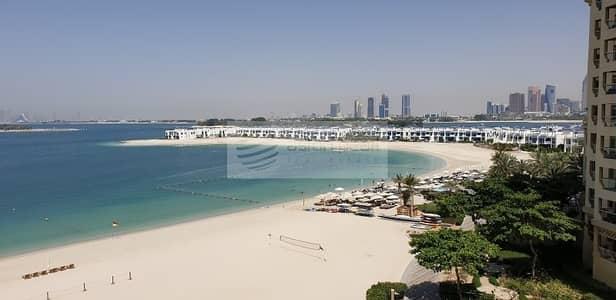 شقة 1 غرفة نوم للبيع في نخلة جميرا، دبي - Full Sea View Shoreline Apartment For Sale