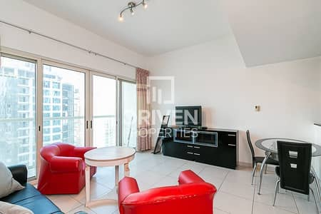 1 Bedroom Apartment for Rent in Dubai Marina, Dubai - Best 1 Bedroom | Furnished | Huge Layout