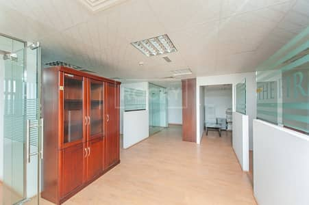 Office for Sale in Business Bay, Dubai - Fitted Office | 3 Parking | with Partition | Business Bay
