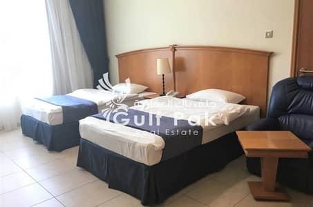 شقة فندقية في الخالدية 2 غرف 157000 درهم - 4388925