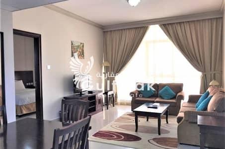 شقة فندقية في شارع المطار 2 غرف 126000 درهم - 4388926