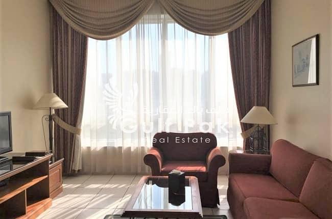 Exceptionally beautiful 1BHK inside Abu Dhabi City