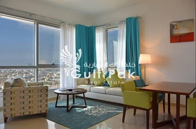 شقة فندقية في شارع المطار 2 غرف 103000 درهم - 4388930