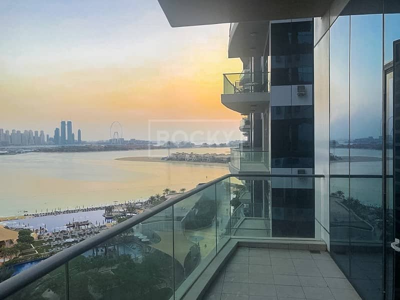 Exclusive|1 Bed with Full Sea View|Oceana Atlantic Palm Jumeirah